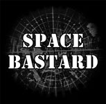 Space Bastard T shirt design