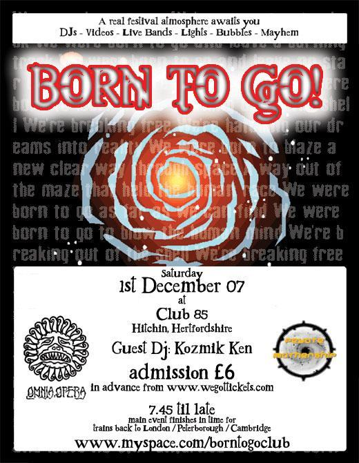Born to go-  flyer