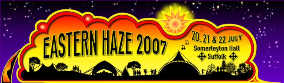Logo- flyer for  eastern Haze festival